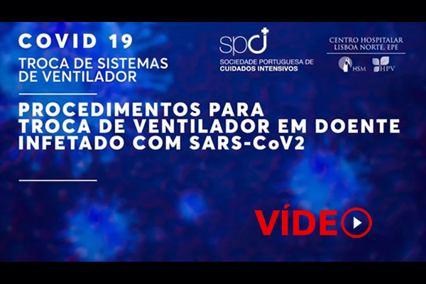 Covid-19: troca de ventilador