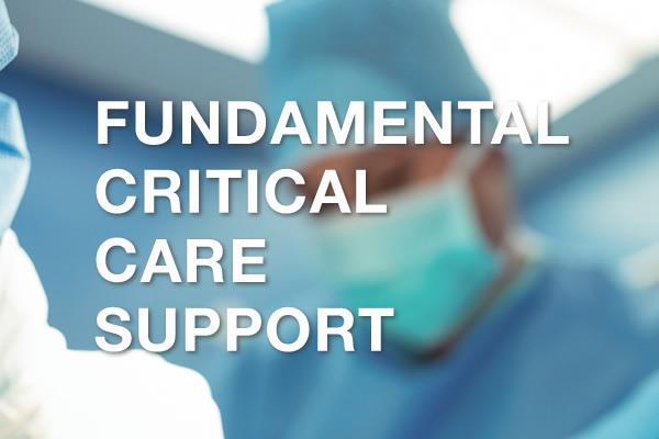 Curso Fundamental Critical Care Support - 15 e 16 Junho
