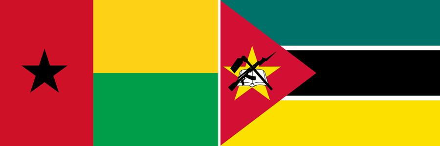 Guiné Bissau e Moçambique