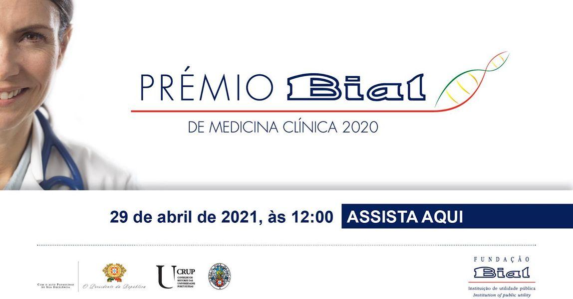 Prêmio Bial Medicina Clínica 2020