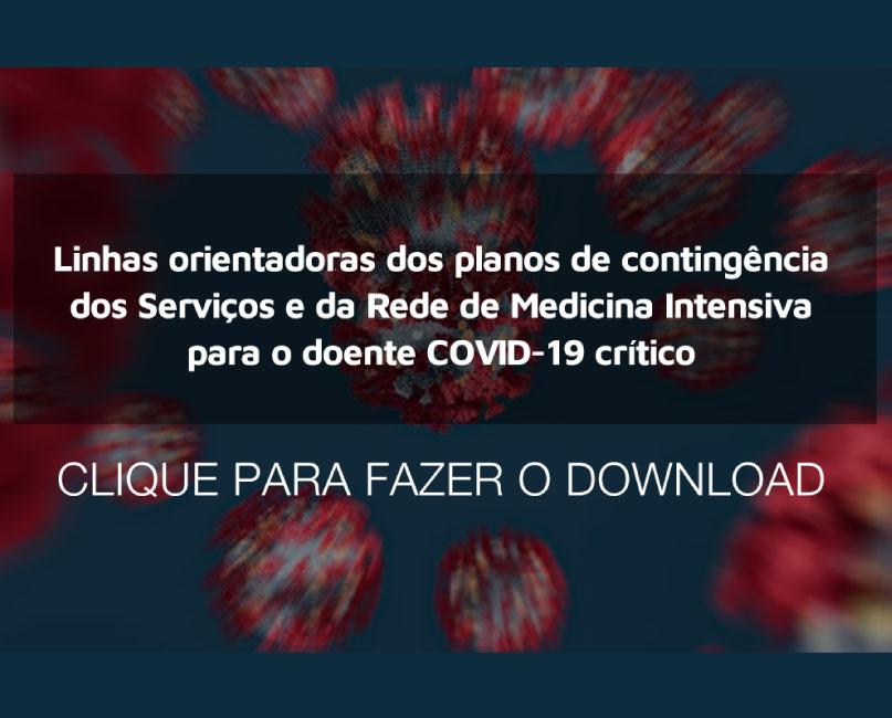 Doente COVID-19 crítico - linhas orientadoras