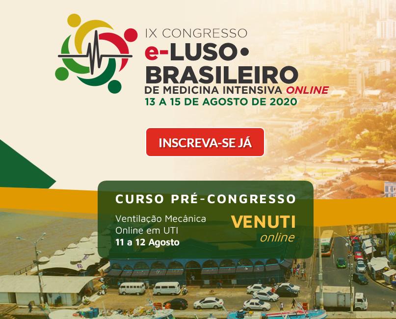 IX Congresso Luso-Brasileiro de Medicina Intensiva Online